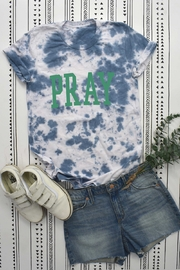 BLUME + CO Tie Dye Graphic Tee - Front cropped