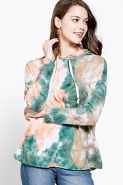 Mittoshop TIE DYE HOODED LONG SLEEVE THIN SWEATSHIRT - Product Mini Image