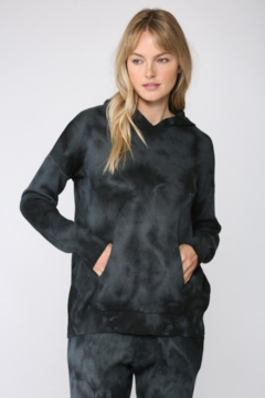 Fate Inc. Tie Dye Hooded Sweater - Product List Image