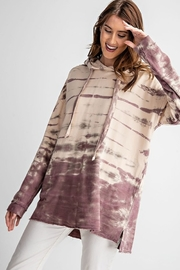 easel Tie Dye Hooded Sweatshirt - Product Mini Image