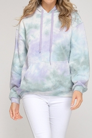 She and Sky Tie Dye Hoodie - Product Mini Image