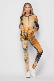 2NE1 Apparel Tie Dye Hoodie Set with Phone Pocket - Product Mini Image