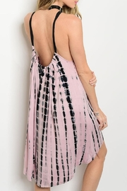 Adore Clothes & More Tie Dye Jersey Dress - Front full body