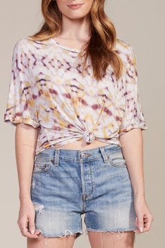 Shoptiques Product: Tie-Dye Jersey Top