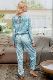 Lyn -Maree's Tie Dye Jumpsuit Loungewear - Product Mini Image