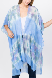 L.I.B. New York Tie-Dye Kimono/Cover Up - Front full body