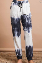 Bibi Tie Dye Knit Jogger Pants - Product Mini Image