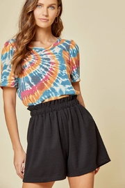 Andree by Unit Tie Dye Knit Tee - Product Mini Image