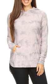 T-Party Fashion Tie dye long sleeve hoodie - Product Mini Image