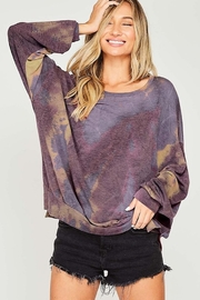Fantastic Fawn Tie Dye Long Sleeve Knit Top - Product Mini Image