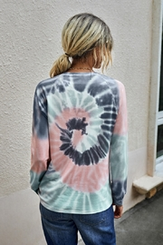 Lyn -Maree's Tie Dye Long Sleeve Top - Product Mini Image