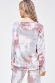 Phil Love Tie Dye Lounge Top - Product Mini Image