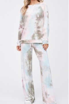 Phil Love Tie Dye Lounge Top - Product List Image
