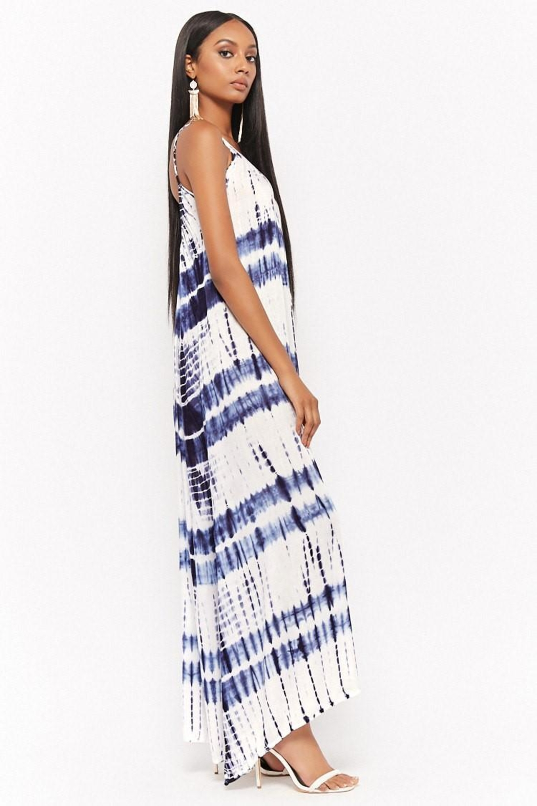 Bohome Tie Dye Maxi - Front Full Image