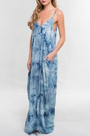 Lovestitch Tie Dye Maxi - Side cropped