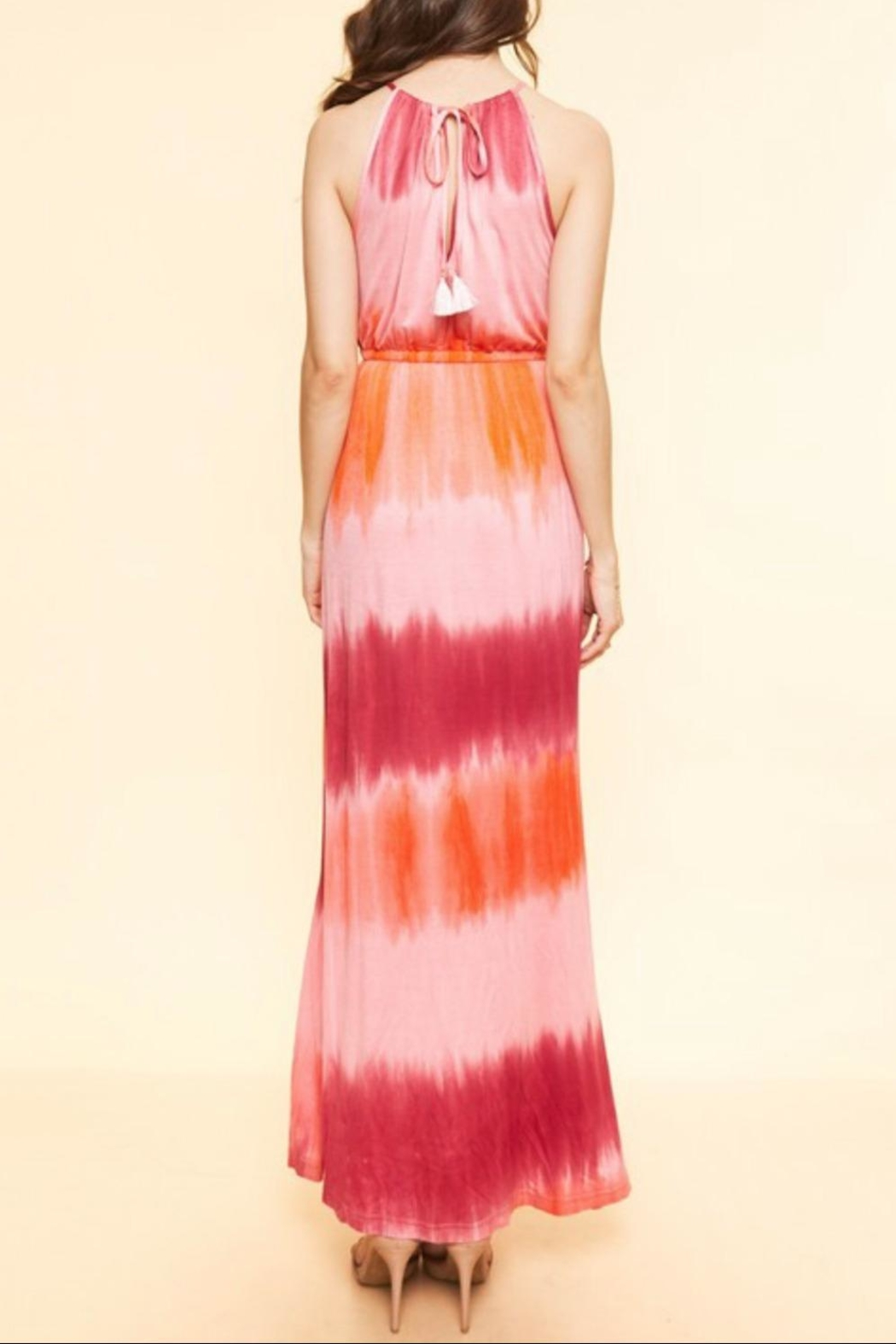 Available Tie Dye Maxi - Front Full Image