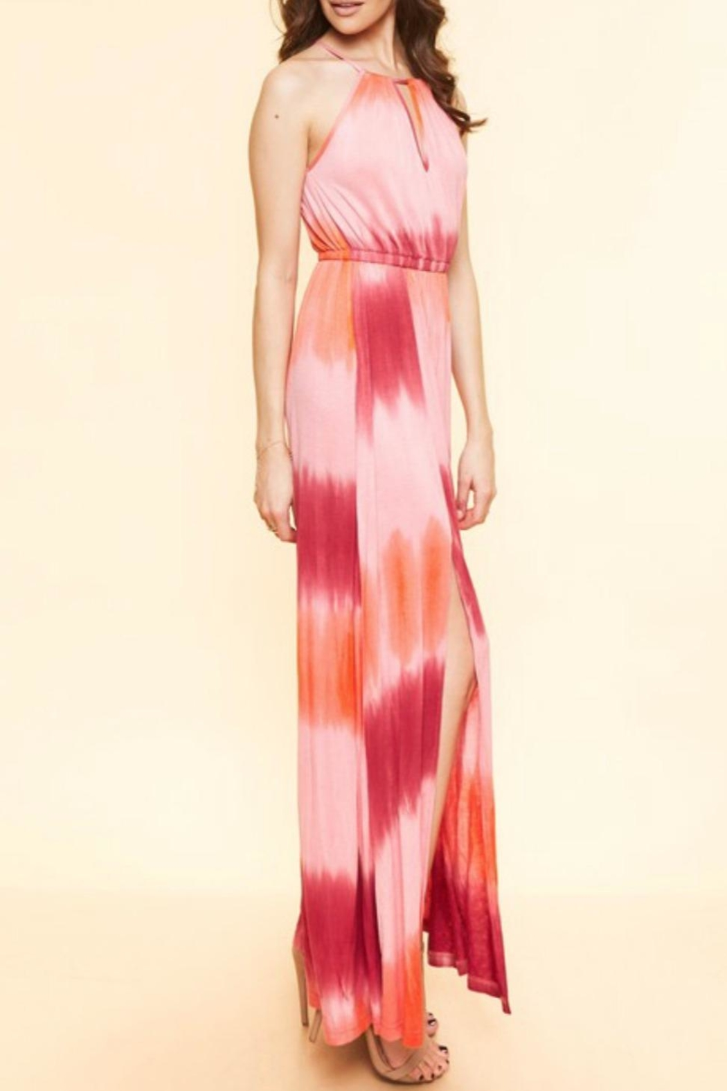 Available Tie Dye Maxi - Side Cropped Image