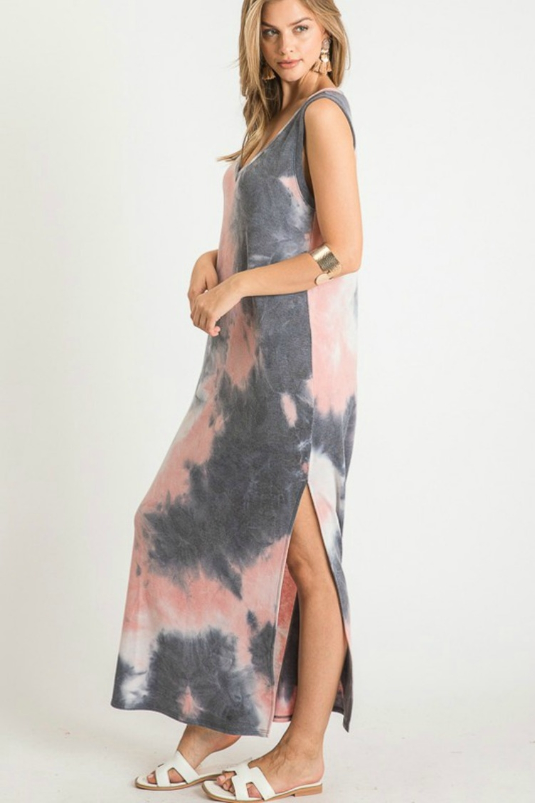 First Love Tie Dye Maxi - Front Full Image