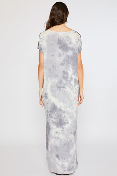 R+D Tie Dye Maxi Jersey Dress - Alternate List Image