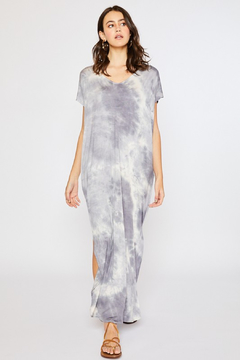 R+D Tie Dye Maxi Jersey Dress - Product List Image
