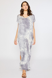 R+D Tie Dye Maxi Jersey Dress - Product Mini Image