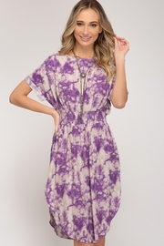 She + Sky Tie Dye Midi Dress - Product Mini Image