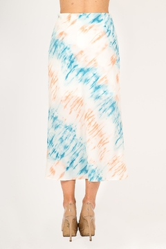 Very J  Tie Dye Midi Skirt - Alternate List Image