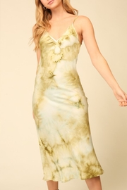 Timing Tie Dye Midi Slip Dress - Product Mini Image