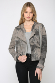 Fate Tie Dye Moto Jacket - Product Mini Image