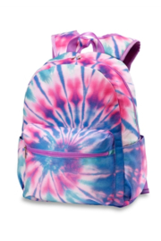 Top Trenz Tie Dye Multi Canvas Backpack - Product Mini Image
