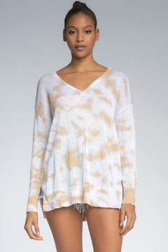 Shoptiques Product: TIE DYE OVERSIZED SWEATER