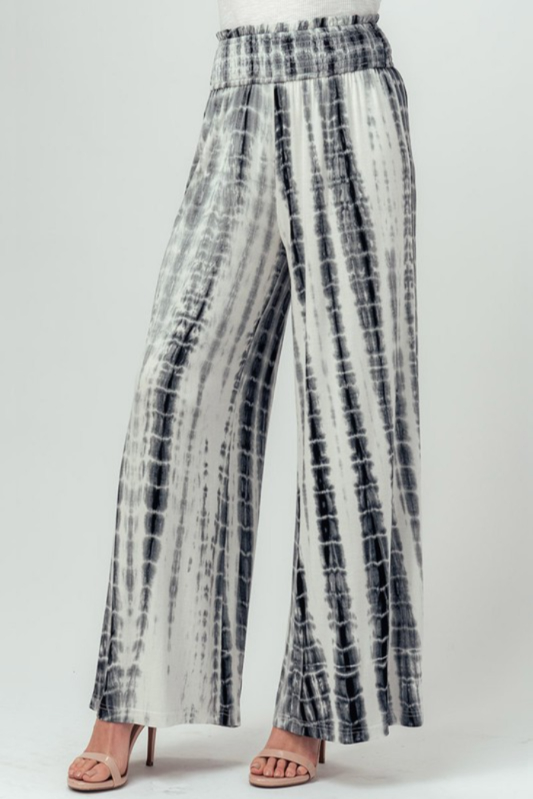 Trend Notes  Tie Dye Palazzo - Main Image