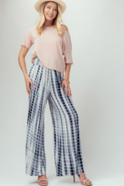 Trend Notes  Tie Dye Palazzo - Front full body