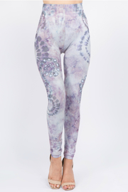 M-rena  tie-dye pattern leggings - Product Mini Image