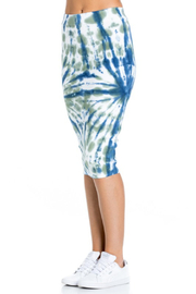 R+D  Tie dye pencil skirt - Front full body