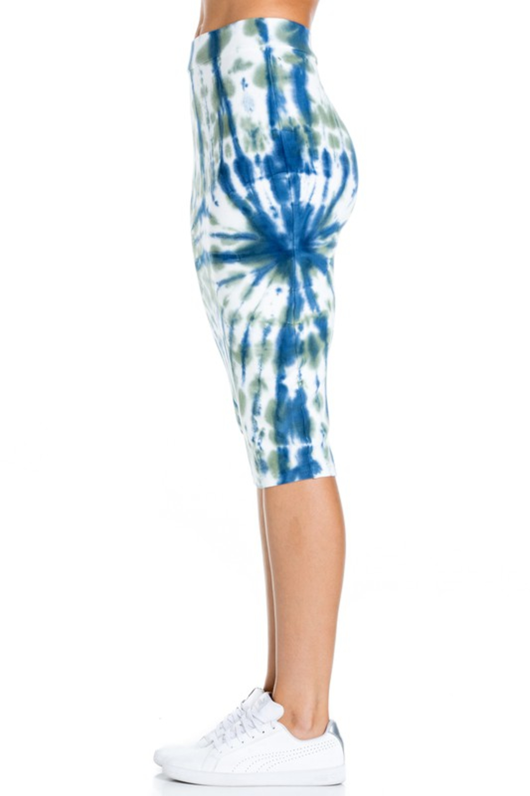 R+D  Tie dye pencil skirt - Side Cropped Image