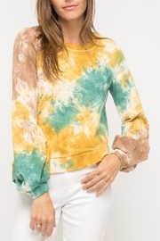 Mystree Tie Dye Pullover - Product Mini Image