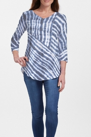 Whimsy Rose Tie-Dye Ripple Tunic - Product Mini Image