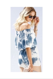 My Story Tie Dye Romper - Side cropped