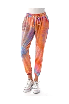 Ariella Tie-Dye Ruched Jogger - Product List Image