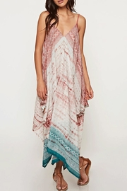 Ambiance Tie-Dye Scarf Dress - Front cropped