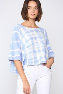 Fate Tie Dye Scoop Neck Cut Off Top - Product List Image