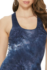 T-Party  Tie Dye Scoop Neck Tank - Front cropped