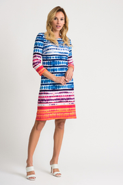 Joseph Ribkoff Tie-Dye Shift Dress - Product Mini Image
