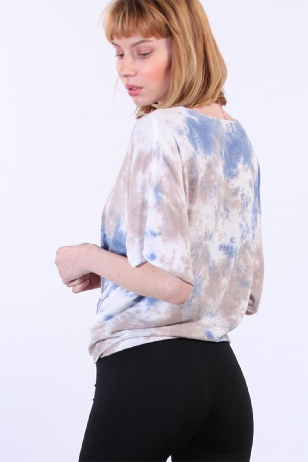 Final Touch Tie Dye Shirt - Front Full Image