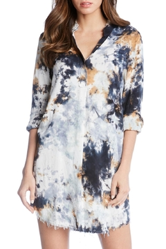 Fifteen-Twenty Tie-Dye Shirt Dress - Alternate List Image