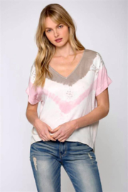 Fate Inc. Tie Dye Short Sleeve Top - Product Mini Image
