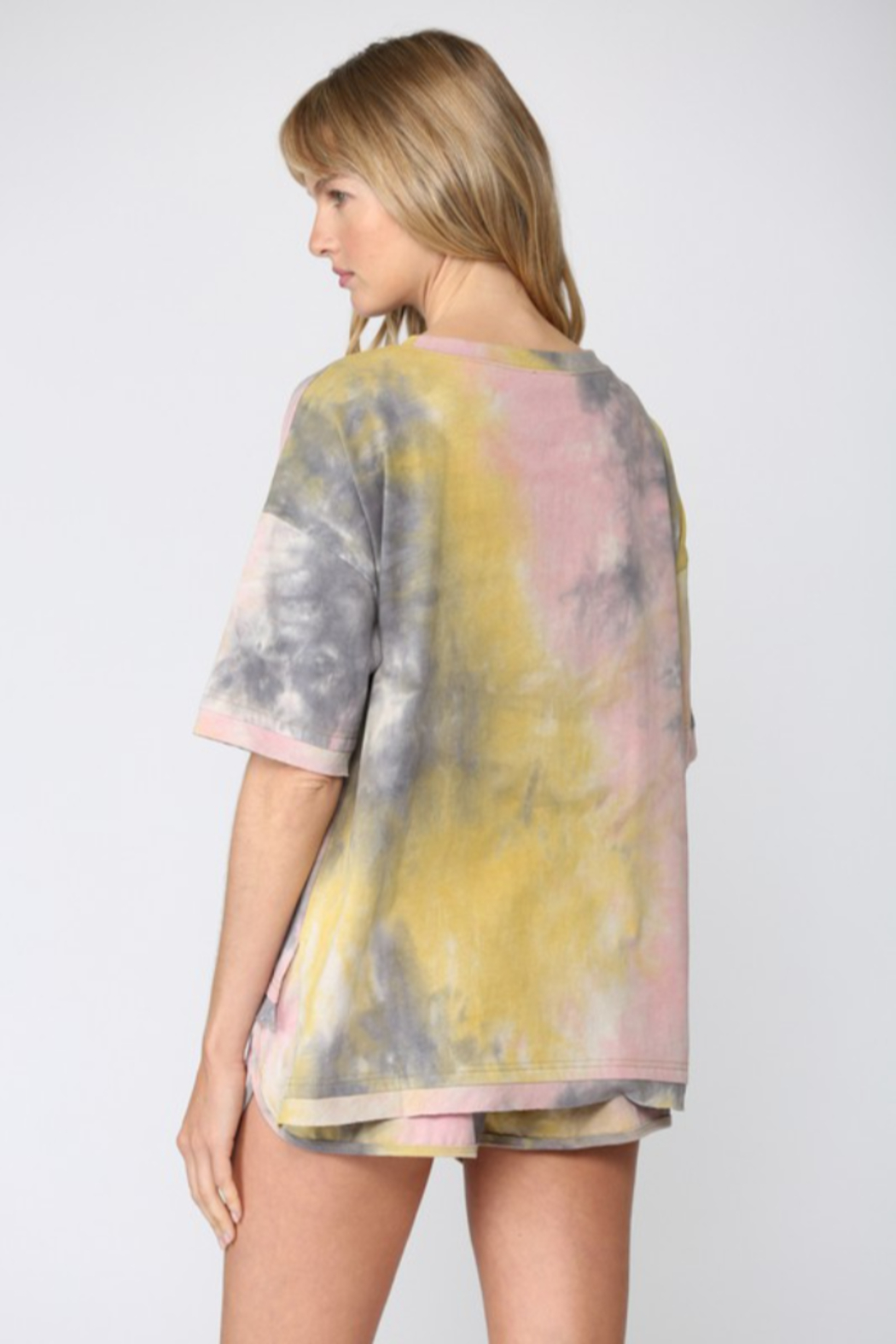 Fate Tie Dye Short Sleeve TShirt - Front Full Image