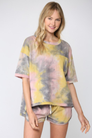 Fate Tie Dye Short Sleeve TShirt - Front cropped