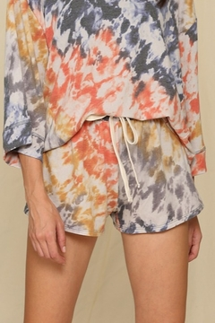 By Together  Tie Dye Shorts - Alternate List Image